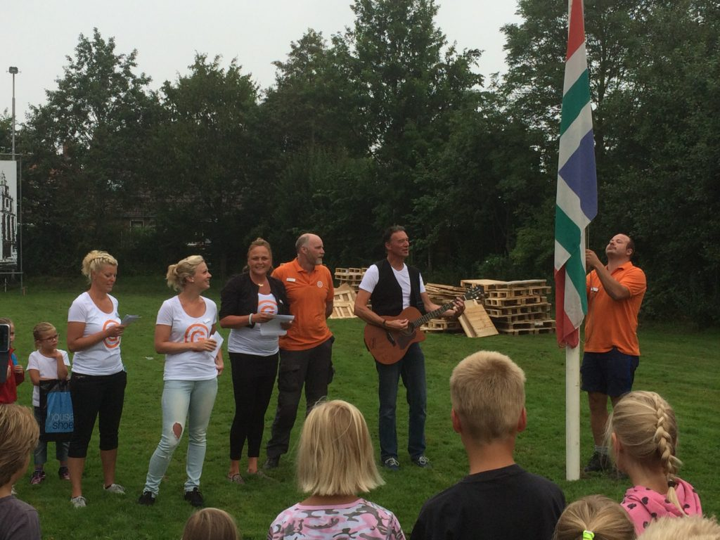 vlag hijsen KSW 2015